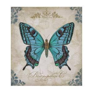 Bleu Papillon C