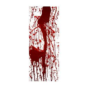 Blood Splatter Ii Painting By Holly Anderson