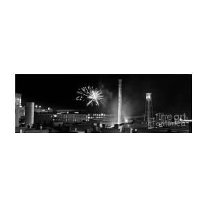 Bull Durham Fireworks Photograph By Jh Photos