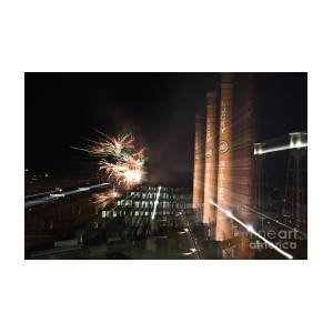 Bull Durham Fireworks Zoom Photograph By Jh Photos