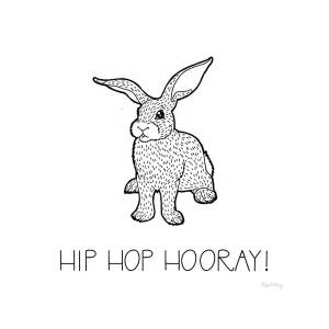 Color The Forest Xi Hip Hop Hooray Painting By Elyse Deneige