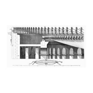 Colosseum: Awning Photograph by Granger