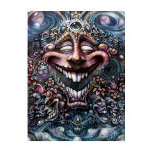 215a395b622 God Of Laughter Painting by David Bollt