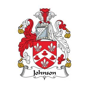 Johnson Coat Of Arms Irish