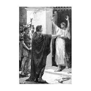 Julius Caesar Plunders Temple Of Saturn by British Library