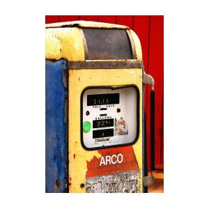 Old Gas Pump by Art Block Collections