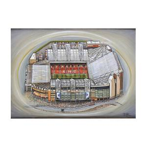 fb9533cd2 Old Trafford - Manchester United Painting by D J Rogers