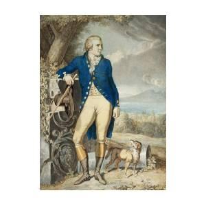 219660ce39cd Portrait Of Johann Wolfgang Von Goethe In The Country by Johann Heinrich  Wilhelm Tischbein