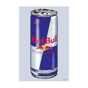 94596dfea2363 Red Bull Ode To Andy Warhol Painting by Tony Rubino