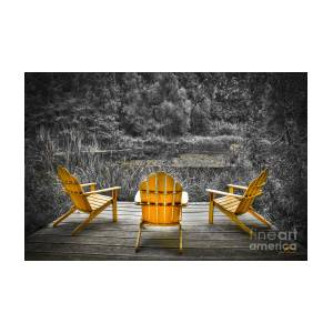 Tremendous Adirondeck Chairs In The Forest Of A Botanical Garden In Virginia Theyellowbook Wood Chair Design Ideas Theyellowbookinfo