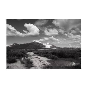 Art print POSTER CANVAS Big Hatchet Mountains in New Mexico