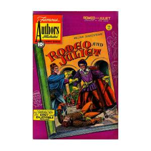 Romeo And Juliet Comic Book