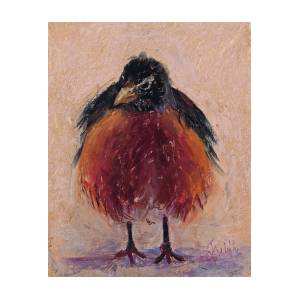 Image result for small ruffled bird painting