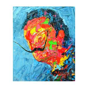 S D 2530 - Dali Abstract Expressionist Portrait