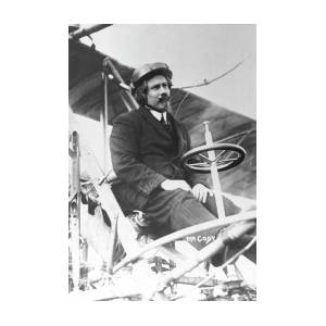 Samuel Franklin Cody In His Biplane Photograph by Universal History  Archive/uig