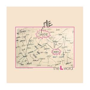 The L Word Lesbian Television Show Cast Giant Wall Art Poster Print