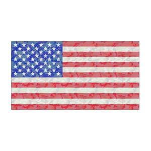 Woodland Camo Us Flag Digital Art by Ron Hedges 5bae619c93f