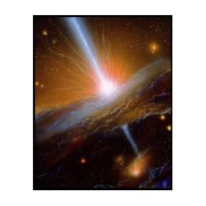 Active Galaxy M87 Photograph By Julian Baum
