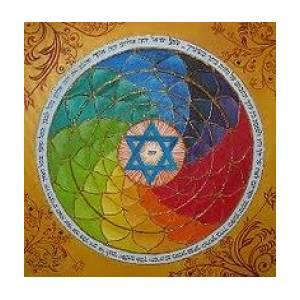 Jewish Mandala by Isaac Khadya