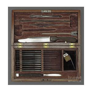 Lincoln Autopsy Kit 1865 Photograph By Science Source