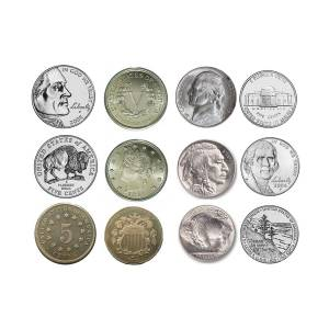 Us Nickels Photograph By Paul Ward