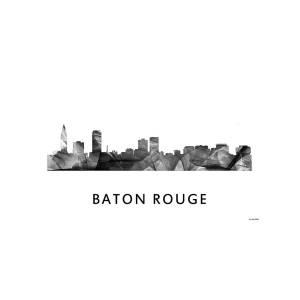Baton Rouge Louisiana Skyline Digital Art By Marlene Watson