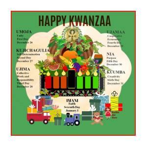 happy kwanzaa digital art by kaitha het heru