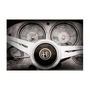 1955 Alfa-romeo 1900 Css Ghia Aigle Cabriolet Steering Wheel -2254ac by  Jill Reger