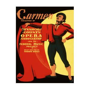 Vintage Poster Carmen Painting By Vintage Images