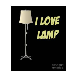 Anchorman Design I Love Lamp Funny Shirt by Funny4You