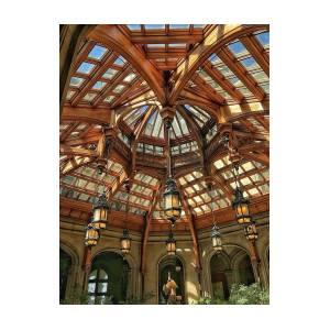 Biltmore Estate Atrium Ceiling By Victoria Wieczorek
