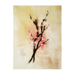 Cherry Blossom Painting By Paul Robertson