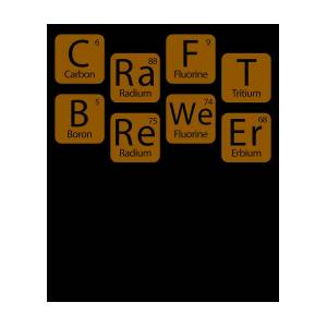 Craft brewer science periodic table apparel digital art by michael s craft brewer science periodic table apparel by michael s urtaz Gallery