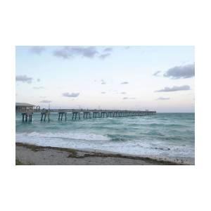 Dania Beach Fishing Pier Photograph By Art Block Collections