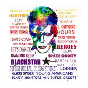 4581c8f47 David Bowie Tribute Digital Art by Patricia Lintner