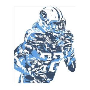 c2fbd3d1 Derrick Henry Tennessee Titans Pixel Art 14 by Joe Hamilton