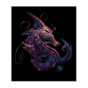 23eda4a20a2 Electric Seahorse Painting by David Bollt