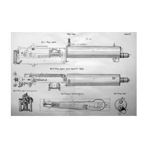 Exact Copy Of Maxim Gun