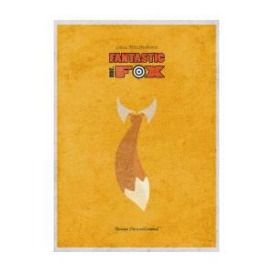 Fantastic Mr Fox Digital Art By Inspirowl Design