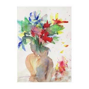 Fiori Watercolor.Fiori Painting By Arihanto Luders