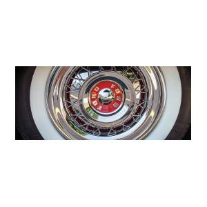 Ford Fairlane Hubcap by Mike Burgquist