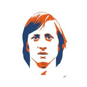 johan cruyff illustration ile ilgili görsel sonucu