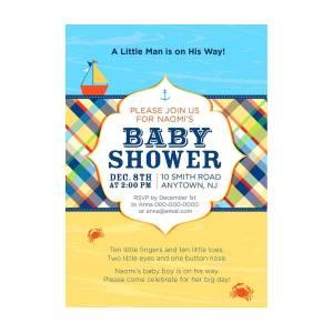 John Deere Baby Shower Invitations Photograph By Freshbaby Giftideas