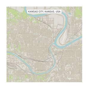 Kansas City Kansas Us City Street Map