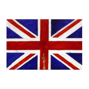 London Flag By Jean Habeck