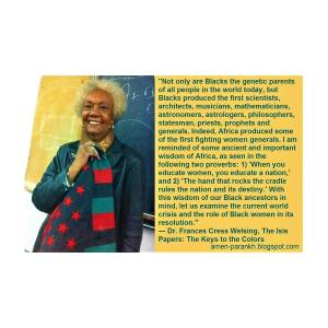 Frances Cress Welsing Isis Papers
