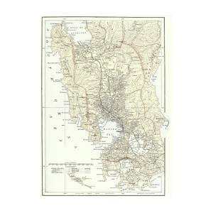 Spanish Philippines Map.Map Of Manila Philippines And The Seat Of War During The Spanish