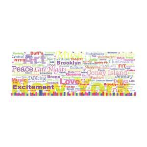 My new york in words digital art by kristi l randall my new york in words by kristi l randall publicscrutiny Choice Image