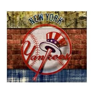 New York Yankees Top Hat Brick Digital Art by CAC Graphics 0471a77b42d8
