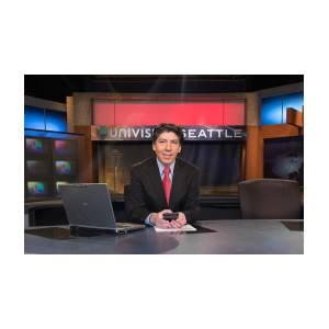 News Anchor Univision Seattle Photograph by Sandra Ayala